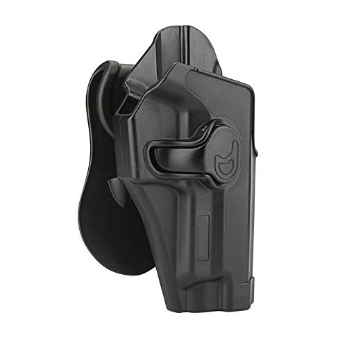 Sig P226 Holster, Outside Waistband Holster Fits Sig Sauer P220 P226 MK25 Full Size 4.4'' Barrel, OWB Paddle Holster, Tactical Polymer Gun Holster, 360° Adjustable & Trigger Release - Right Handed