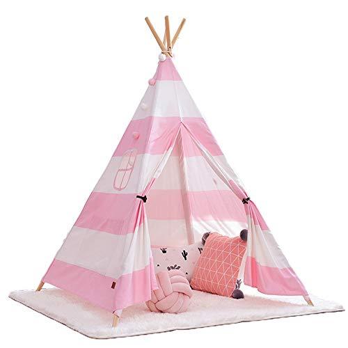 YIJIAHUI Kids Play Tent Children's Tent Play House Boy Girl Indoor Outdoor Birthday Gift for Children's Toddlers Kids Foldable Play Tent for Indoor Outdoor (Color : Black, Size : 120x120x160cm)