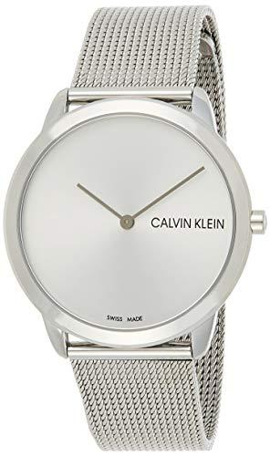 Calvin Klein Reloj Analogico para Hombre de Cuarzo con Correa en Acero Inoxidable K3M211Y6