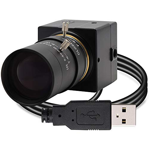 Cámara USB 5 – 50 mm Lente varifocal cámara Web de Alta Velocidad VGA 100 fps USB con cámara CMOS OV2710 Sensor Full HD 1080P cámara USB con Mini Funda de Aluminio cámara Web