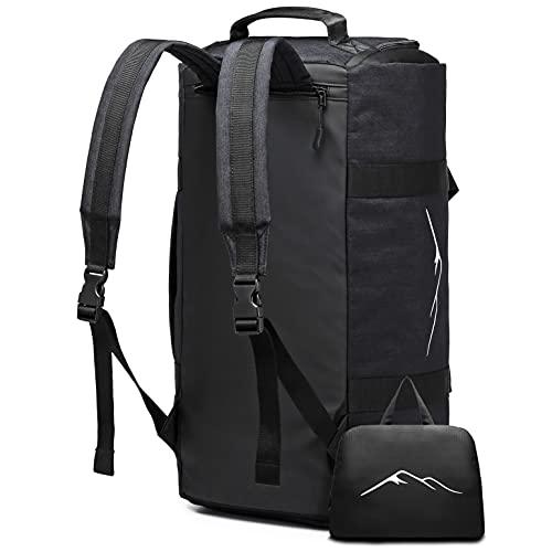 wayfarers lane Duffle - Reisetasche mit integrierter Anzugtasche, Faltrucksack und Rucksackfunktion - geeignet als Handgepäck im Flugzeug