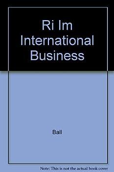 Paperback Instructor's Manual: Im International Business Book