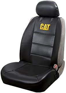 Plasticolor 008610R01 Caterpillar CAT Logo Universal Fit Car Truck or SUV Sideless 2-Piece Seat...