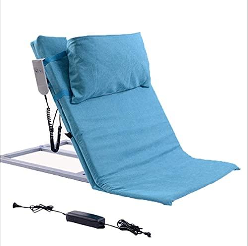 wsbdking El levantador de almohada de confort ajustable, el respaldo de la cama de elevación de potencia incluye el sistema de bomba eléctrica y la cubierta del colchón de colchón se adapta al confort