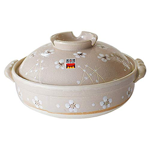 CYC 28cm Keramiktopf 2300ml Gleichmäßige Erwärmung Verbrühschutz Einfach zu Säubern Langsamer Kocher Geeignet für 2-4 Personen