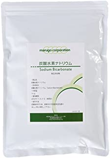 marugo(マルゴ) 国産 重曹 粉末 (1kg) 食品添加物グレード 掃除・消臭にも