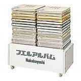 ナカバヤシ アルバム販売用平台 ホワイト AD-750-001