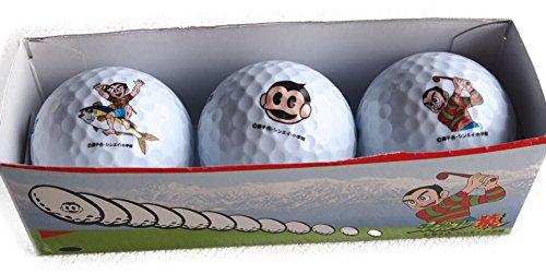 プロゴルファー猿 ゴルフボール キャラクター ゴルフボール セット販売 (2セット(6個))