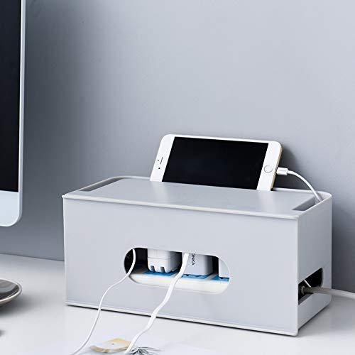 Caja para Cables,caja cables,caja cables organizador con tapa,caja organizadora de cables con...