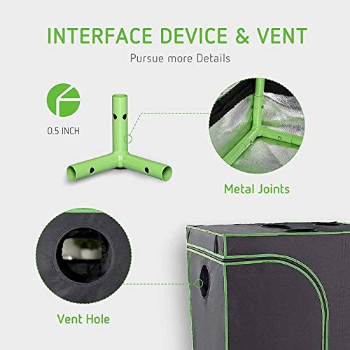 TheBudGrower Signature LED Indoor Grow Tent Kit