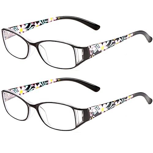 SaNgaiMEi Gafas de Lectura Anti Luz Azul Hombre Mujere Gafas Presbicia +2.50 Ordenador Gaming Pc Uv Luz Filtro Proteccion