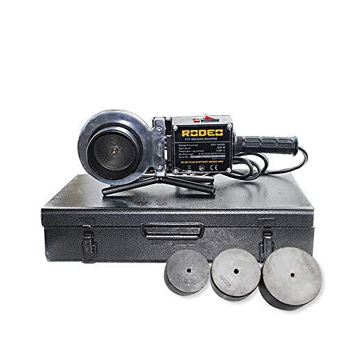 2000W Soldador de Tuberia Plastica,176V-245V/50Hz 75/90/110mm,Dual Control de Temperatura,Polifusor Kit Pistola Electrica para PP-R/PP/PB etc,Plasticwelder