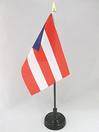 AZ FLAG Bandera de Mesa de Puerto Rico 15x10cm - BANDERINA de...