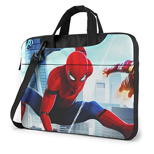 SPI-Der-Man 13/14/15.6 Inches Laptop Shoulder Messenger Bag Briefcase- Shockproof Foam Computer Protective Bag