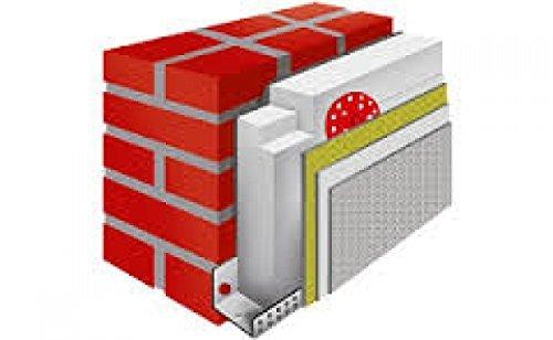 Fassadendämmung WDVS Set Dämmpaket, EPS WLG 032/80 mm für 100m², inkl. Lieferung frei Haus