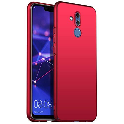 Maxx Xiaomi Pocophone F1 Hülle, Hardcase Handyhülle, Bumper Schutzhülle, Premium Handy Schutz passend für Xiaomi Pocophone F1, Rot (Doppelpack, 2 Stück)