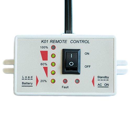Fernbedienung für ECTIVE Wechselrichter mit Ladestandsanzeige KS01