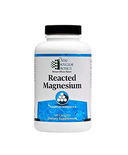 Ortho Molecular Products, Reacted Magnesium, 180 Capsules