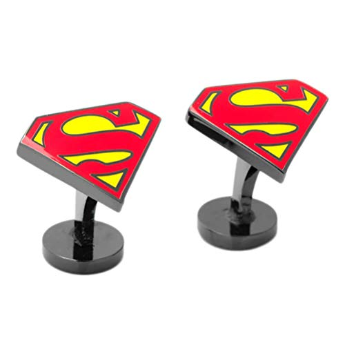 Superman DC Comics Shield Emaille Manschettenknöpfe