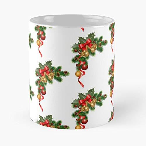 Carteras mangas fundas fundas para tabletas de Navidad Feliz Navidad teléfono estándar grande mejor taza de café de cerámica de 11 oz comer comida morder John Best 11 oz taza de café de cerámica