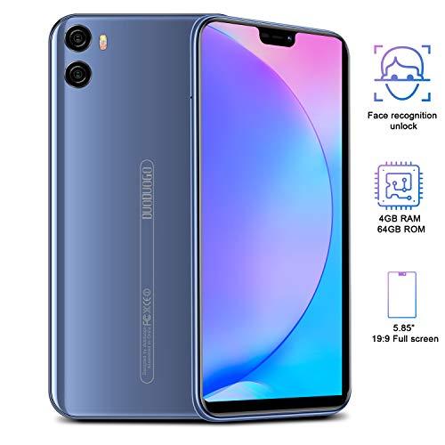 professionnel comparateur Smartphone 4G pas cher, 64 Go + 4 Go, HD 5,85 pouces, Android 8.1 12 MP, téléphone mobile double SIM… choix