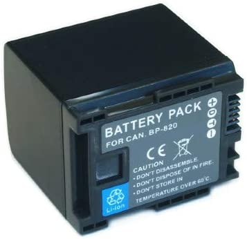 Synergy Digital Camcorder Max 70% OFF Battery famous Works XA55 Camcord Canon with