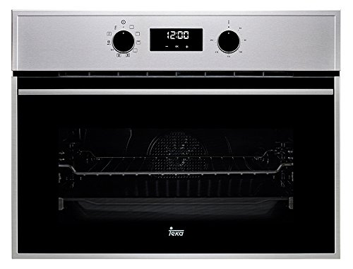 Teka inbouw-compacte oven HSC 635, glas/metaal, zwart/roestvrij staal