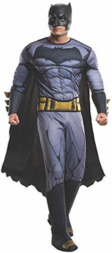 Rubie's Men's Batman v Superman: Dawn of Justice Deluxe Batman Costume, Multi, One Size