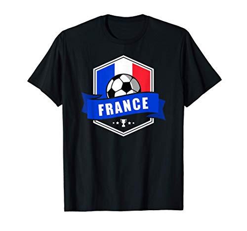 France Maillot Shirt Football Equipe Fan Cadeau 2020 2021 T-Shirt