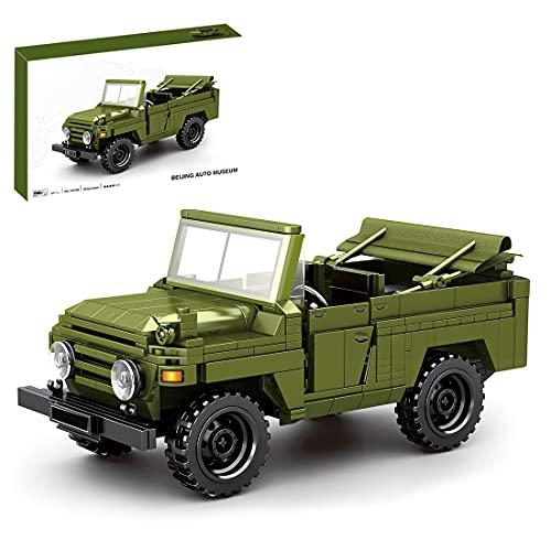 SENG Tecnica Camion Militare Modello 626 Pezzi Rimontare Auto Militare Veicolo Kit di costruzione per Bambini e Adulti, Compatibile con Lego