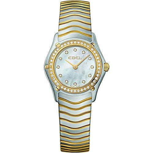 [エベル] レディース CLASSIC ウォッチ 腕時計 1215262 23mm [並行輸入品]