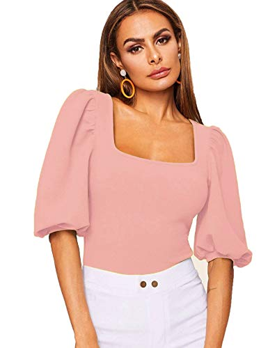 J B Fashion Women Top with Half Sleeves for Women Top,Stylish Top, Casual Wear Top for Women/Girls Top