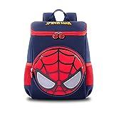 Marvel Niños Mochila, Guardería Spiderman Square Bolsa para Escuela...