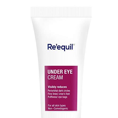 RE' EQUIL Under Eye Cream for Dark Circles, Wrinkles, Puffy Eyes - 20g
