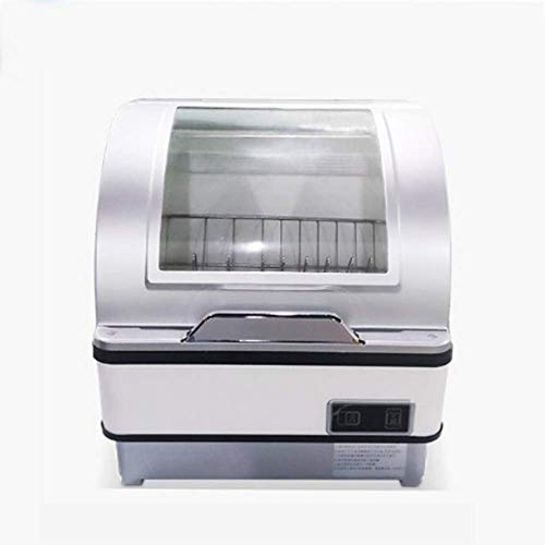 XHCP lavavajillas lavavajillas sobre encimera ComAct con desinfección de Alta Temperatura U DisAshe portátil 360 & deg;RoAtinAlta presión Spay iSA Stainless Steel faAmentment Office Home Kitchen