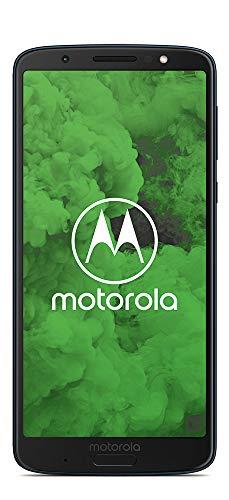 Motorola Moto G6 Plus 64GB Single-SIM (GSM Only, No CDMA) Factory Unlocked 4G Smartphone (Indigo Blue) - International Version