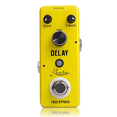 Rowin Delay Guitar Effect Pedal Mini Compact Size True Bypass