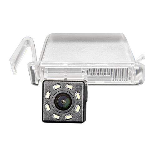 HD 720p Telecamera per telecamera di retromarcia a colori di per illuminazione targa,Telecamera posteriore luce targa per FIAT 500 500C 2009-2015