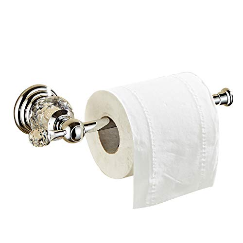 Top 10 best selling list for toilet paper holder with crystal