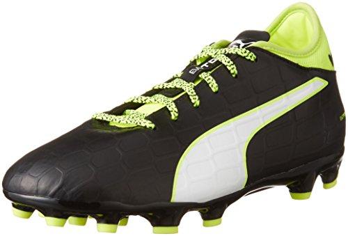 PUMA Evotouch 3 AG, Botas de fútbol para Hombre, Color Negro, Blanco y Negro, 43 EU