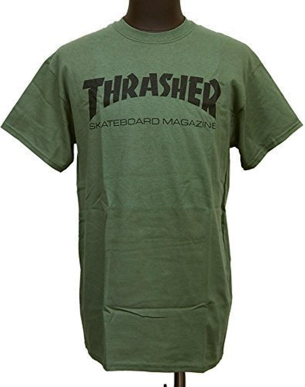(スラッシャー) THRASHER マガジンロゴ Tシャツ 【並行輸入品】