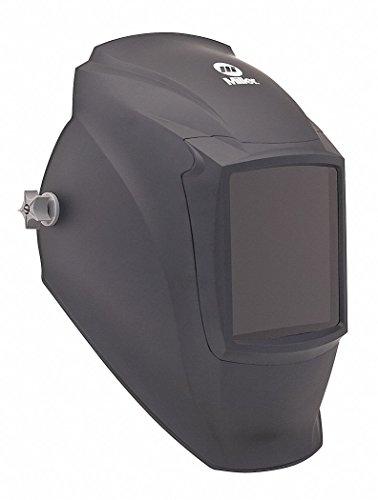"Miller Electric MP-10 Series, Passive Welding Helmet, 10 Lens Shade, 4.25"" x 4.02"" Viewing AreaBlack"