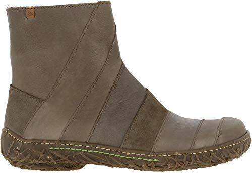 El Naturalista Damen Ankle Boots Nido, Frauen Stiefelette, Stiefel Boot halbstiefel Bootie reißverschluss Damen Frauen weibliche,Plume,36 EU / 3 UK