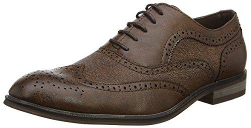 New LookFashion - Zapatos de Vestir Hombre, Color marrón, Talla 44