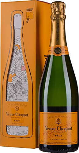 Veuve Clicquot Brut Yellow Label Champagner, 750 ml