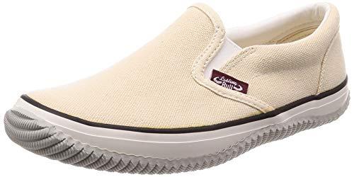 [福山ゴム] カジュアル作業靴 ラスティングブル レディース オフホワイト 24 cm 3E