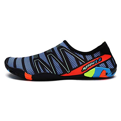 Herren Sandalen Quick Dry Slip On Wear Resistant Casual Beach Schuhe Sommer-Atmung Sandal Slippers für das Tauchen
