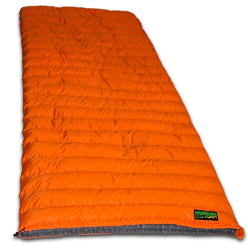 LOWLAND OUTDOOR Mixte -Adult Super Compact Blanchet-590g-210 cm +8°C Orange 210 x 80 x 80 cm