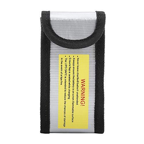 Cubierta Protectora a Prueba de Fuego, Cubierta Protectora de batería a Prueba de Fuego, A Prueba de explosiones para baterías Seguridad Carga, Viajes, Transporte y Almacenamiento