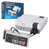 Classic Mini Handheld Retro Game Console with Built-in 620 Games and 2 NES Controllers,8-bit AV Output NES Mini Console,TV Video Games Glassic Console,The Ideal Gift for Children and Adults.